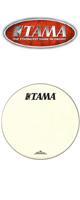 TAMA(タマ) / CT18BMOT - バスドラム用フロントヘッド-【TAMA+Starclassic黒ロゴ】