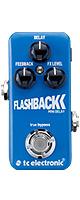 TC Electronic(ティーシーエレクトロニック) / Flashback Mini Delay -ディレイ- 《ギターエフェクター》 ■限定セット内容■→ 【・パッチケーブル(KLL15) 】