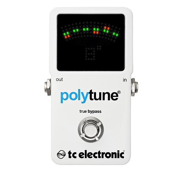 TC Electronic(ティーシーエレクトロニック) / PolyTune 2 -ポリフォニック・ペダルチューナー- ■限定セット内容■→ 【・9V アルカリ乾電池 】