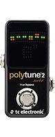 TC Electronic(ティーシーエレクトロニック) / PolyTune 2 Noir -ポリフォニックチューナー- 1大特典セット