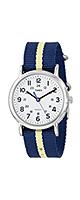 TIMEX(タイメックス) / Weekender Nylon Slip-Thru Strap Watch (Blue/Light Yellow Stripe / T2P142) 腕時計