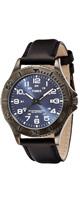 TIMEX(タイメックス) /Street Black/Gunmetal Leather Strap Watch T2P392 - 腕時計 -
