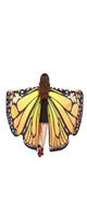 TLoowyTM /  蝶の羽ポンチョ (Orange) ハロウィン コスプレ