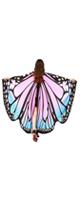 TLoowyTM /  蝶の羽ポンチョ (Pink) ハロウィン コスプレ