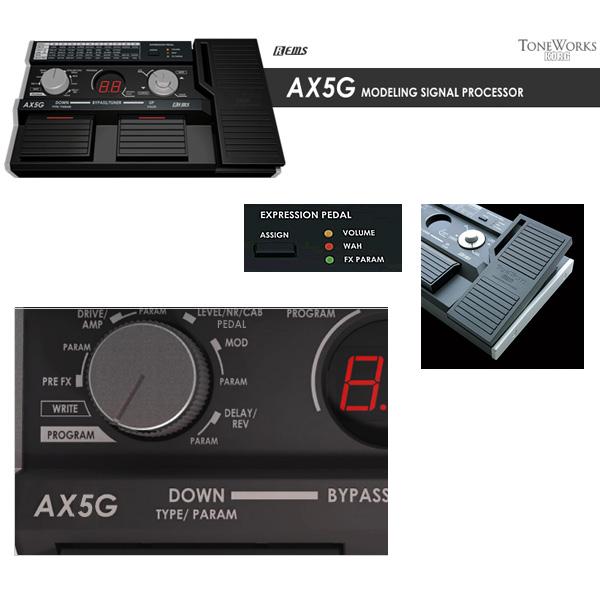 TONEWORKS(トーンワークス) / AX-5 G - マルチギターエフェクター -