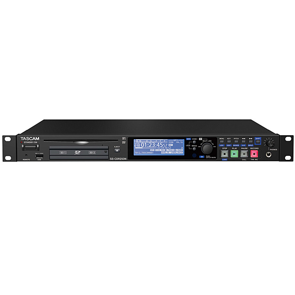 Tascam(タスカム ) / SS-CDR250N - 2チャンネルステレオオーディオレコーダー/プレーヤー -