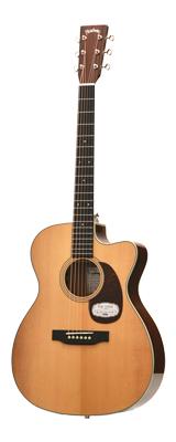 1本限り特価!! HEADWAY(ヘッドウェイ) / HOC-V090SE/KOA NA アコースティックギター 【ギグケース付属】