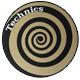 Technics(テクニクス) / Slipmats (Spiral Gold) - スリップマット (2枚/1ペア) -