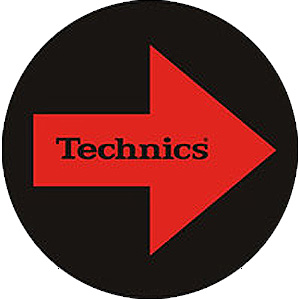 Technics(テクニクス) / TECHNICS ARROWS Slipmats (2slipmats)