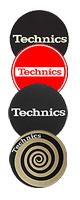Technics(テクニクス) / Slipmats Technics   - スリップマット - デザインは入荷時期によって異なります