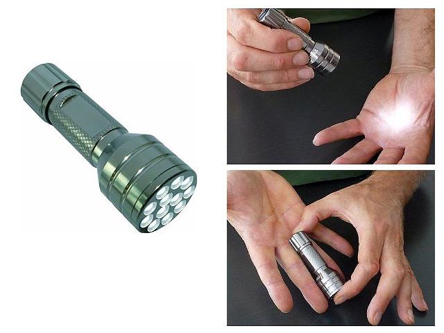 True Utility(トゥルーユーティリティー) / 12 Compact Midilite LED Torch -ハンディーライト-