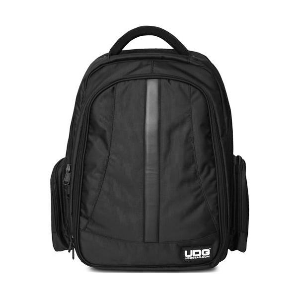 UDG / Ultimate Digi Backpack Black/Orange (U9102BL/OR) 【SERATO SCRATCH LIVE/NI TRAKTOR SCRATCHユーザーに最適】