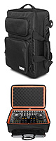 UDG / Ultimate MIDI Controller Backpack (Black/Orange) 【U9103BL/OR】 【NI S4 / DENON MC6000 / VESTAX VCI-400等 対応】 - ソフトバック -