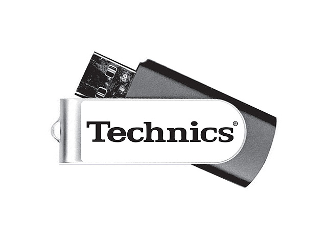 Technics(テクニクス) / Technics branded 8GB USB 2.0 フラッシュメモリ