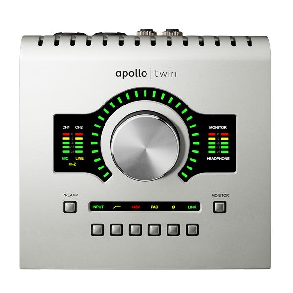 APOLLO TWIN USB / Universal Audio(ユニバーサルオーディオ) - USB3.0接続オーディオ・インターフェース -
