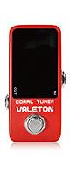 VALETON(ヴェイルトン) / CORAL TUNER - ギターチューナー - 《ギターエフェクター》 1大特典セット