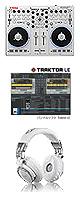 """VCI-100MK2 & HD-1200 set ■限定セット内容■→ 【・VCI-100スッポリ ・HD-1200 ヘッドホン ・ミックスCD作成KIT ・OAタップ ・金メッキ高級接続ケーブル 3M 1ペア ・セッティングマニュアル ・エレクトロハウス音ネタ ・教則DVD ・DJ必需CD 計""""5枚""""】"""