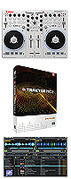 VCI-100MK2 / TRAKTOR PRO 2 アップグレード set ■限定セット内容■→ 【・ミックスCD作成KIT ・教則DVD ・金メッキ高級接続ケーブル 3M 1ペア 】