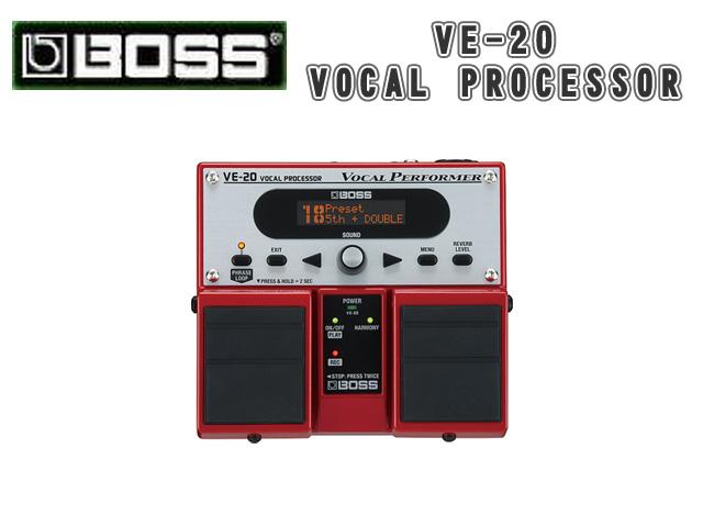 Boss(ボス) / VE-20 VOCAL PROCESSOR 【ボーカル向けエフェクター】