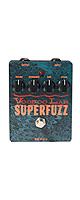 【限定1台】VOODOO LAB(ブードゥーラボ) / SUPER FUZZ -ファズ- 《ギターエフェクター》『セール』『ギター』 1大特典セット