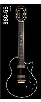 VOX(ヴォックス) / SSC-55 (Single Cutaway)  black - エレキギター -