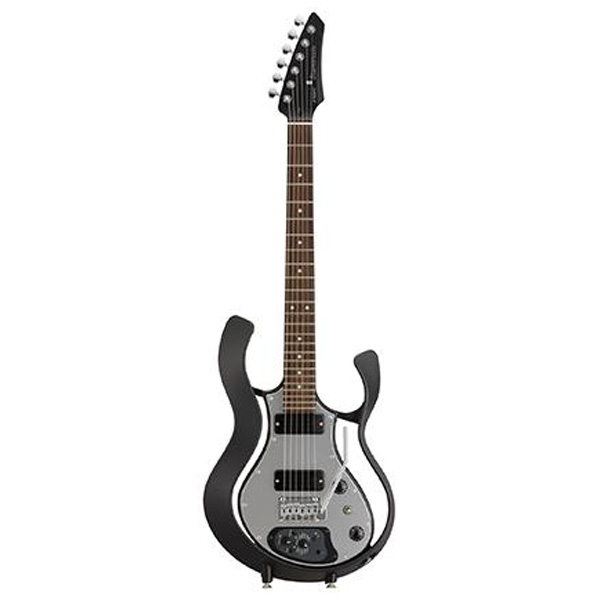 VOX(ヴォックス) / Starstream Type 1-24 with DiMarzio (VSS-1-24BKBK-M / Black Frame with Black Body Metal Top) - エレキギター / モデリングギター -