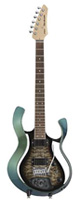 VOX(ヴォックス) / Starstream Type 1-24 with DiMarzio (VSS-1-24MGBB-Q / Metallic Green Frame with Black Burst Quilted Maple Top) - エレキギター / モデリングギター -
