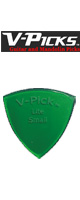 V-PICKS(ブイピック) / V-SPL-G Small Pointed/1.5mm/Emerald Green - ピック  -