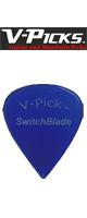 V-PICKS(ブイピック) / V-SWB-BL Switch Brade/1.5mm/Sapphire Blue- ピック  -