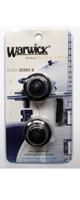 【限定1台】Warwick(ワーウィック) / security lock BLACK ロックピン『セール』『旧パッケージ』『パッケージイタミ』