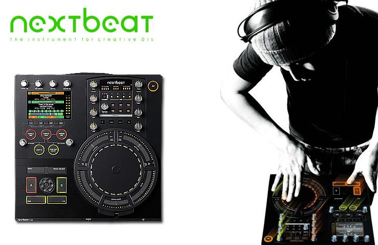 """nextbeat(ネクストビート) / X-1000 [ワイヤレスDJ] ■限定セット内容■→ 【・教則DVD ・エレクトロハウス音ネタ ・ミックスCD作成KIT ・DN-HP500 ・DJ必需CD 計""""1枚""""】"""