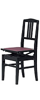 Yoshizawa / 5K(黒) 背付高低自在椅子