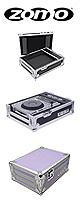 Zomo(ゾモ) / CDJケース  PC-1000 PURPLE 【Pioneer CDJ-1000/CDJ-900/CDJ-850】 - フライトケース -