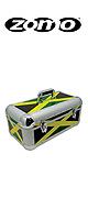 Zomo(ゾモ) / Record Case RS-250 (Jamaica) 約250枚収納可能 7インチ用レコードケース