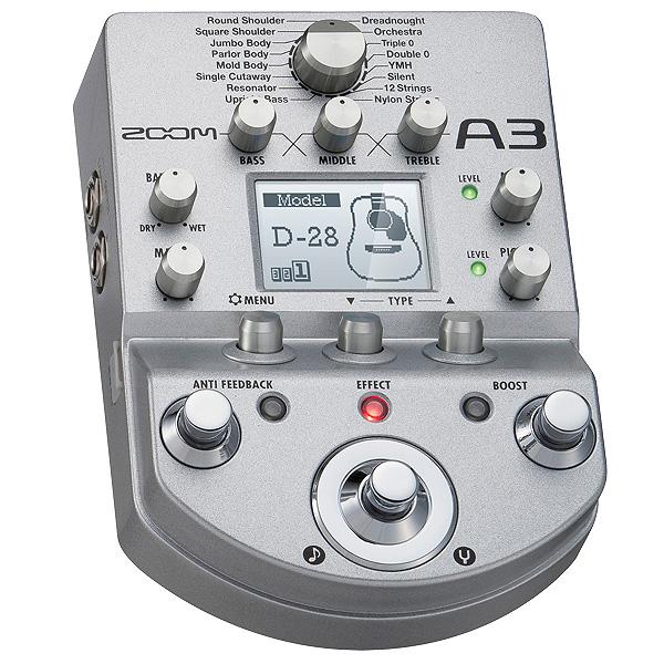 Zoom(ズーム) / A3 - ギターエフェクター アコースティック -