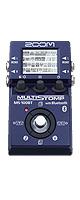 Zoom(ズーム) / MS-100BT - マルチエフェクター ギターエフェクター - 【Bluetooth通信機能付きエフェクター】 ■限定セット内容■→ 【・Zoom(ズーム) / AD-16 】
