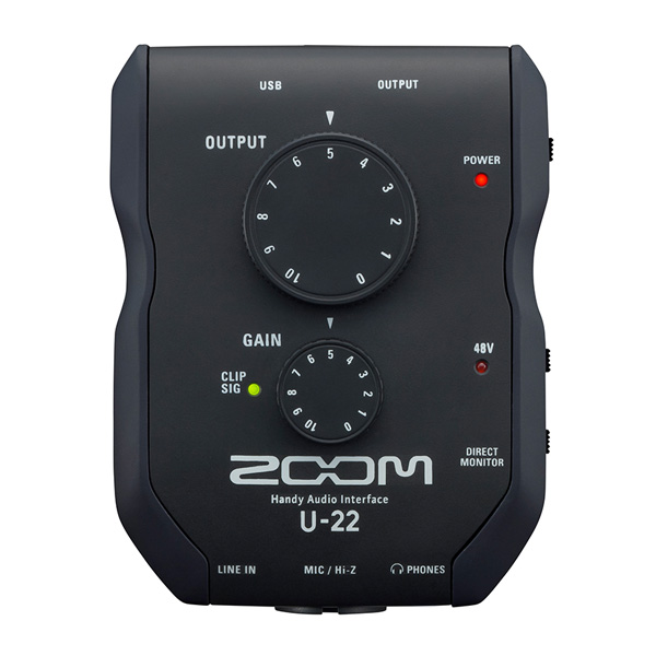 Zoom(ズーム) / U-22 - Handy Audio Interface  -