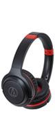 audio-technica(オーディオテクニカ) / ATH-S200BT(ブラックレッド) - ワイヤレスヘッドホン -