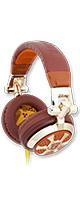 iFrogz (アイフロッグス) / Earpollution Dj Style Headphones (Billionaire) - ヘッドホン -