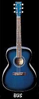 k-garage(ケー ガレージ) / KF-150 BUS ブルーサンバースト - アコーステックギター -