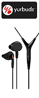 yurbuds(ヤーバッズ) / Ironman Inspire PRO (Black) (3-Button Control and Mic) - スポーツタイプイヤホン -