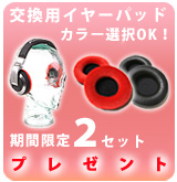 【P】 Pioneer イヤーパッド 2セット 選択OK ver.