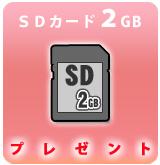 SDカード2GBサービス[P]